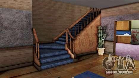 CJs House New Interior para GTA San Andreas segunda tela