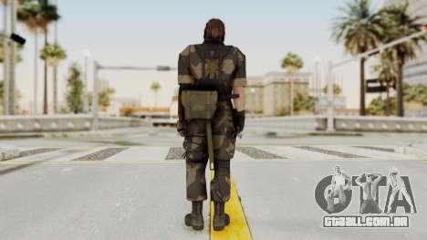 MGSV The Phantom Pain Venom Snake Splitter para GTA San Andreas terceira tela