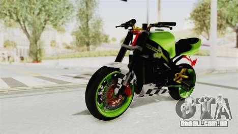 Kawasaki Ninja ZX-9R Stunter para GTA San Andreas