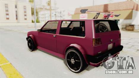 New Club Modification para GTA San Andreas esquerda vista