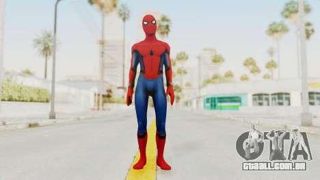Spider-Man Civil War para GTA San Andreas segunda tela