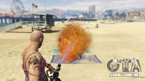 Real Flamethrower 1.5 para GTA 5