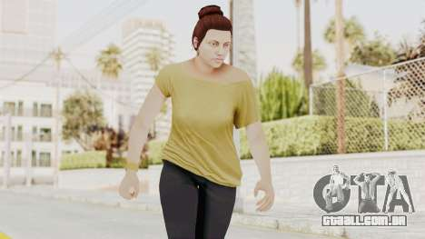 GTA 5 Online Female Skin 1 para GTA San Andreas