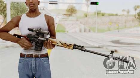 Sniper with New Realistic Crosshair para GTA San Andreas terceira tela