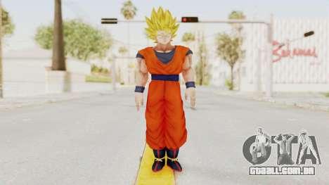 Dragon Ball Xenoverse Goku SSJ2 para GTA San Andreas segunda tela