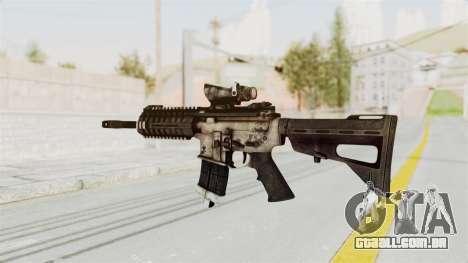 P416 para GTA San Andreas segunda tela