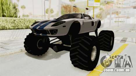 Ford GT 2005 Monster Truck para GTA San Andreas