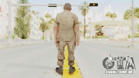COD BO Reznov Macv para GTA San Andreas terceira tela
