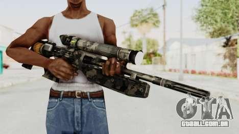 VC32 Sniper Rifle para GTA San Andreas terceira tela