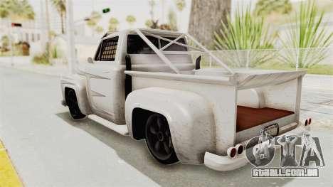 GTA 5 Slamvan Race PJ1 para GTA San Andreas vista interior