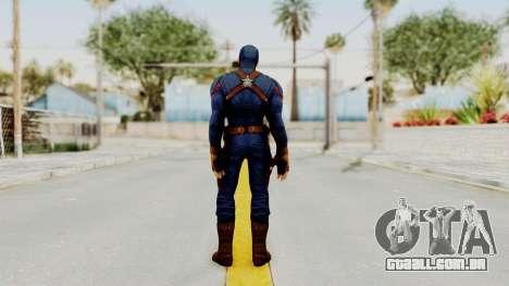 Captain America Civil War - Captain America para GTA San Andreas terceira tela