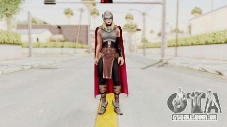 Marvel Future Fight - Thor (Jane Foster) para GTA San Andreas segunda tela