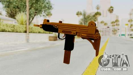 Uzi Gold para GTA San Andreas terceira tela