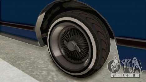 GTA 5 Dundreary Virgo Classic Custom v1 IVF para GTA San Andreas vista traseira