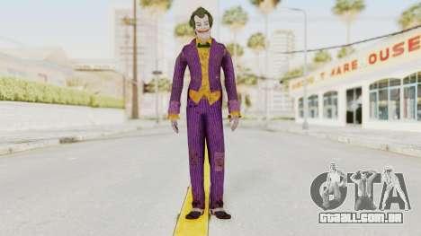 Batman Arkham Knight - Joker para GTA San Andreas segunda tela