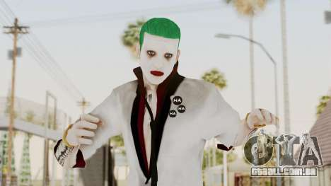 The Joker from Suicide Squad Re-Textured para GTA San Andreas
