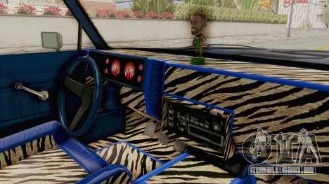 GTA 5 Dundreary Virgo Classic Custom v1 IVF para GTA San Andreas vista interior