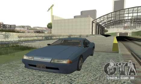 Padrão Elegia com um retrátil spoiler para GTA San Andreas