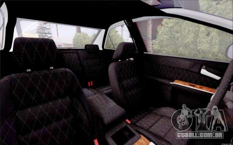 Toyota Camry V6 Sprot Edition para GTA San Andreas vista interior