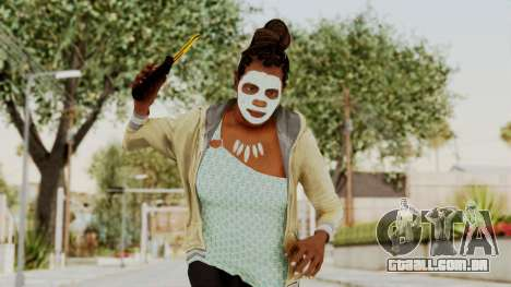 GTA 5 Denise Clinton v1 para GTA San Andreas
