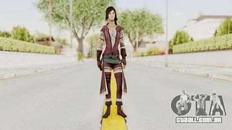 Assassins Creed Brotherhood - Courtesan para GTA San Andreas segunda tela