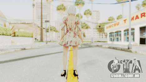 Dead Or Alive 5 LR - Christie Casual New Hair para GTA San Andreas terceira tela