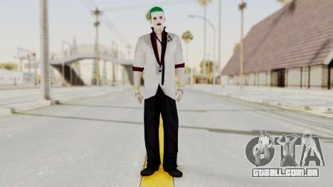 The Joker from Suicide Squad Re-Textured para GTA San Andreas segunda tela