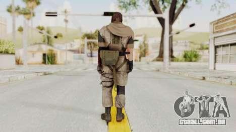 MGSV The Phantom Pain Venom Snake Sc No Patch v3 para GTA San Andreas terceira tela