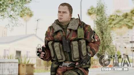Battery Online Russian Soldier 9 v2 para GTA San Andreas