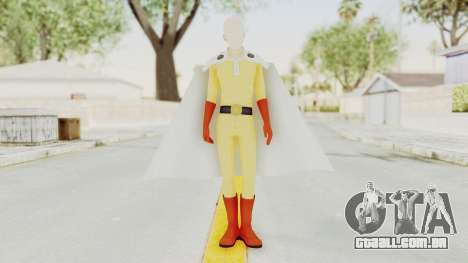 Saitama One Punch Man para GTA San Andreas segunda tela