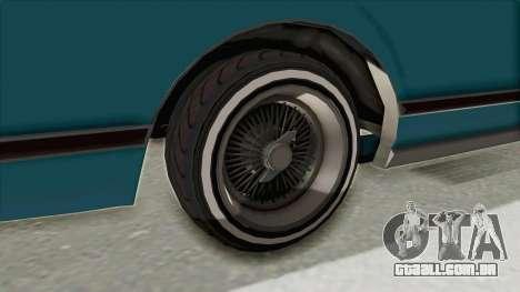 GTA 5 Dundreary Virgo Classic Custom v3 para GTA San Andreas vista interior