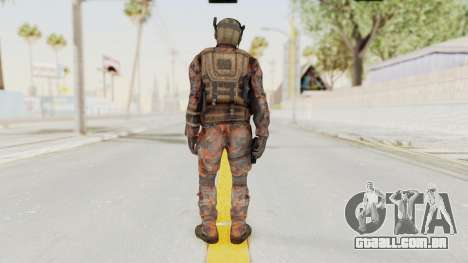 COD Black Ops 2 Cuban PMC 1 para GTA San Andreas terceira tela