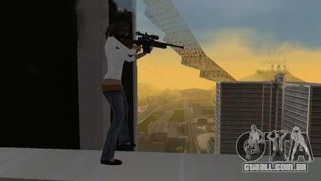 VIP Sniper Rifle para GTA San Andreas terceira tela