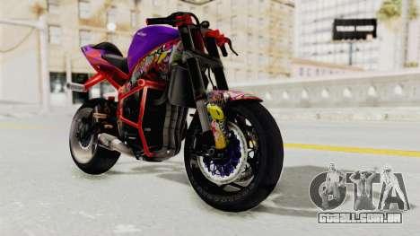 Kawasaki Ninja ZX-6R Stunter para GTA San Andreas