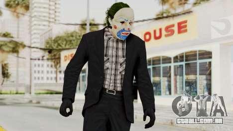 Joker Heist Outfit GTA 5 Style para GTA San Andreas