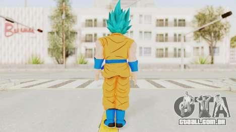 Dragon Ball Xenoverse Goku SSGSS V2.0 para GTA San Andreas terceira tela