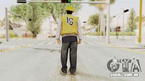 GTA 5 Los Santos Vagos Member 2 para GTA San Andreas terceira tela