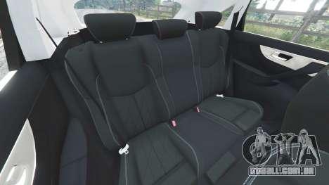 Infiniti FX S50 para GTA 5