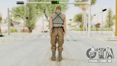 MGSV The Phantom Pain Soviet Union Tanktop v2 para GTA San Andreas terceira tela