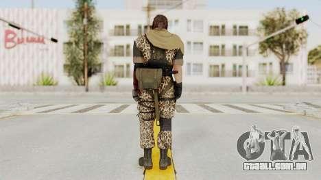 MGSV The Phantom Pain Venom Snake Sc No Patch v8 para GTA San Andreas terceira tela