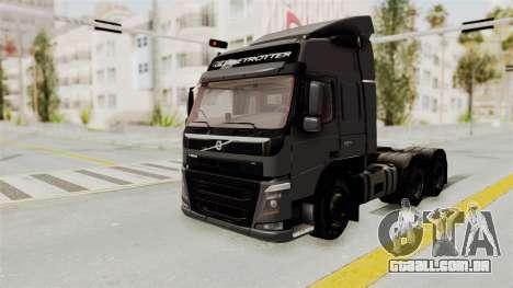 Volvo FM Euro 6 6x4 v1.0 para GTA San Andreas vista direita