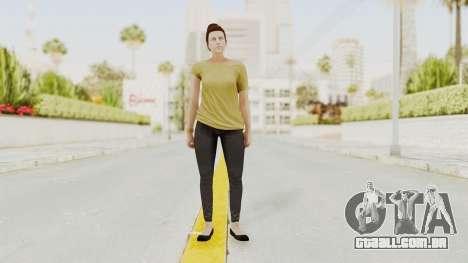 GTA 5 Online Female Skin 1 para GTA San Andreas segunda tela