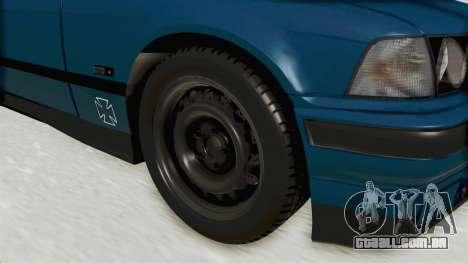 BMW 325i E36 para GTA San Andreas vista traseira