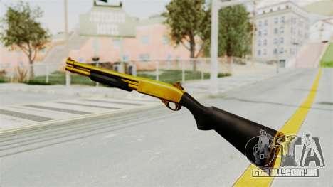 Remington 870 Gold para GTA San Andreas terceira tela