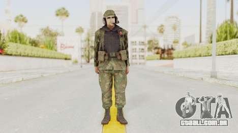 MGSV Ground Zeroes US Pilot v2 para GTA San Andreas segunda tela