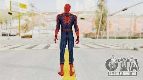 Captain America Civil War - Spider-Man para GTA San Andreas terceira tela