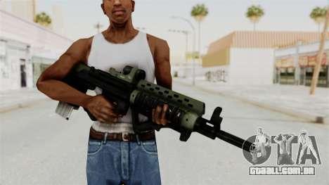 Killzone - M82 Assault Rifle para GTA San Andreas terceira tela