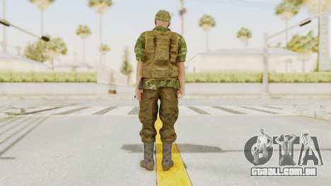 MGSV The Phantom Pain Soviet Union No Sleeve v2 para GTA San Andreas terceira tela