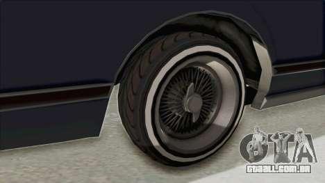 GTA 5 Dundreary Virgo Classic Custom v2 IVF para GTA San Andreas vista traseira