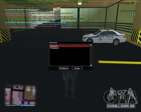 CLEO Fakearmy para GTA San Andreas segunda tela